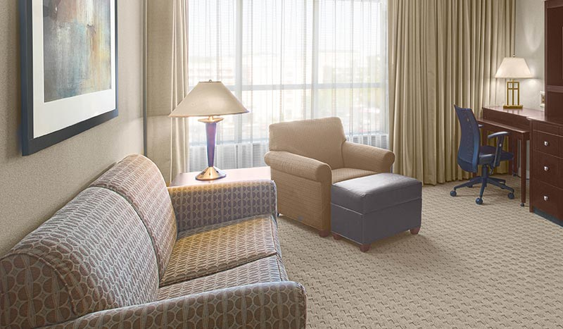 Executive Suite at Holiday Inn Baton Rouge College Drive I-10 Hotel, Louisiana