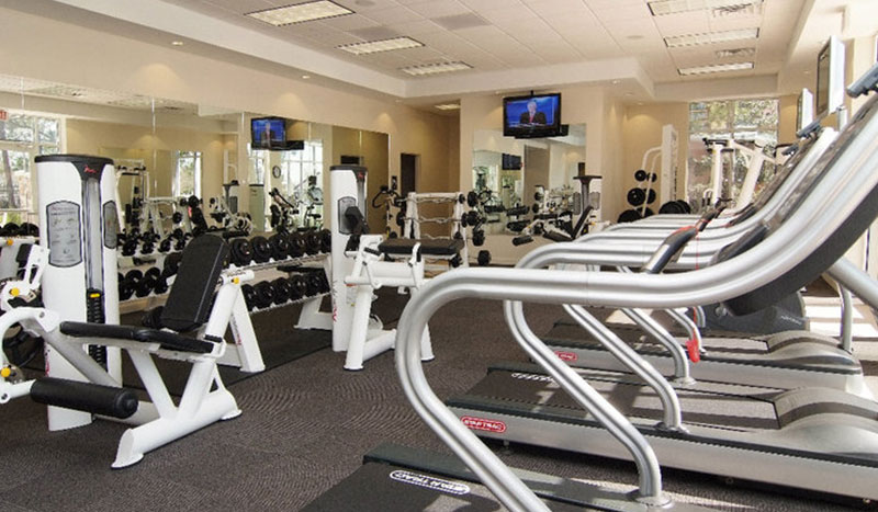 Fitness Center at Holiday Inn Baton Rouge College Drive I-10 Hotel, Louisiana